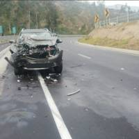 Accidente de tránsito en Quito