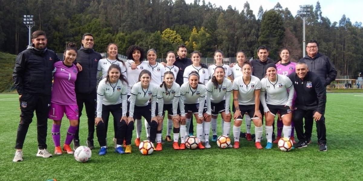 Rosario Balmaceda responde en cancha y anota en goleada de Colo Colo sobre la Universidad de Concepción