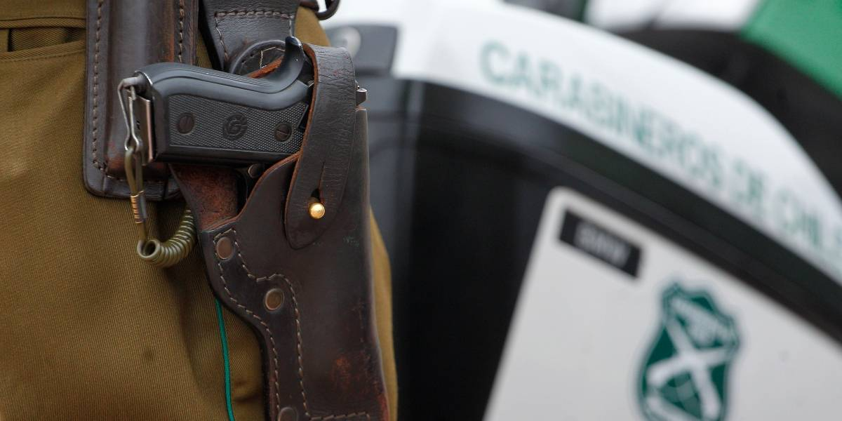 Carabinero disparó a sujeto que trató de degollar a su madre de 82 años en San Bernardo