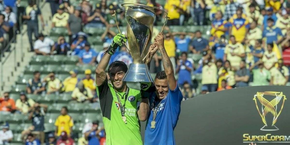 Cruz Azul es campeón de la Súper Copa Mx