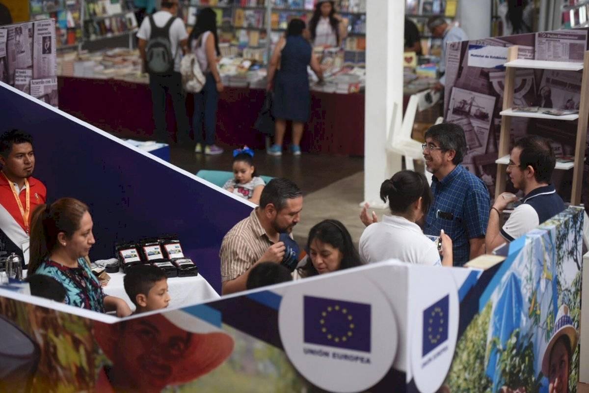Decenas de personas acuden al cuarto día de Filgua 2019. Edwin Bercián