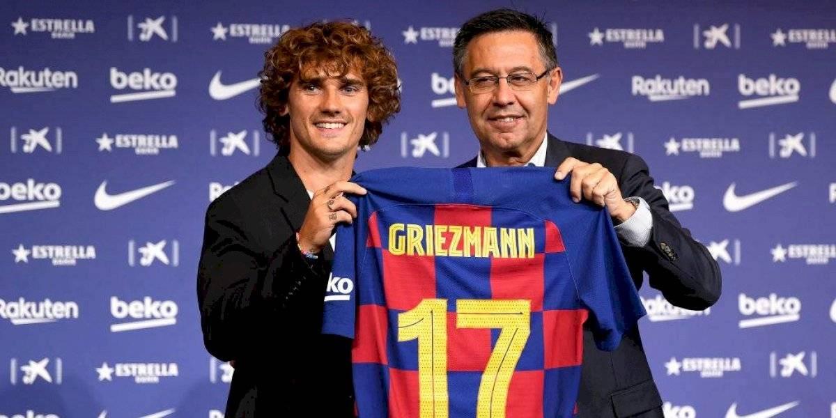 """Griezmann avisa en su presentación en Barcelona: """"Si tengo que pedir perdón, será en el campo"""""""
