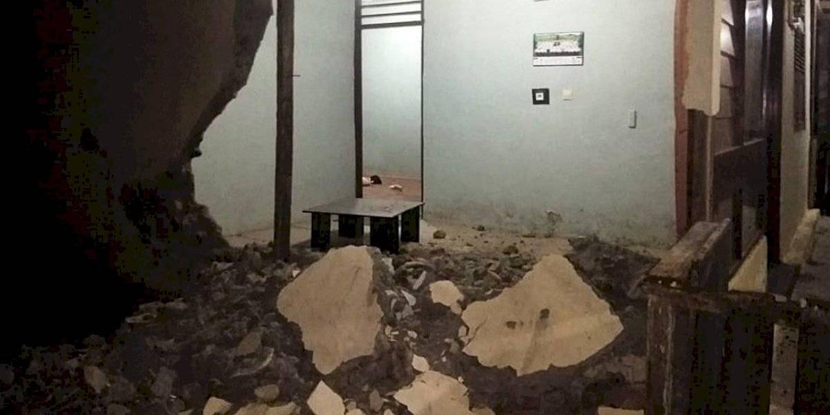 Indonesia: Captan en video las escenas de pánico tras terremoto de 7,3