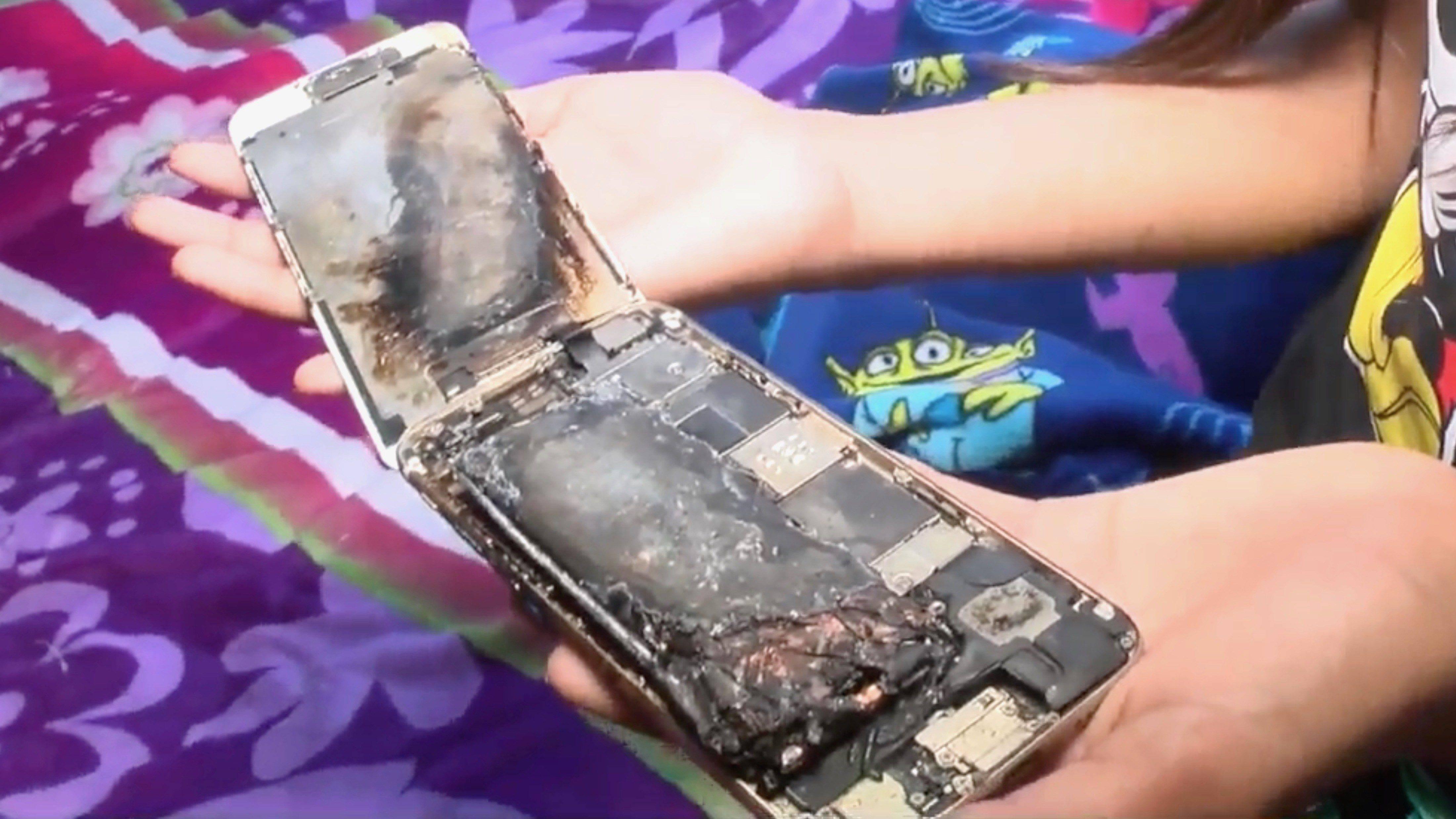 Explota iPhone 6 en las manos de una menor