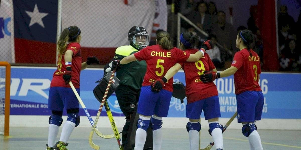 Las Marcianitas obtuvieron bronce en el hockey patín de los World Rollers Games