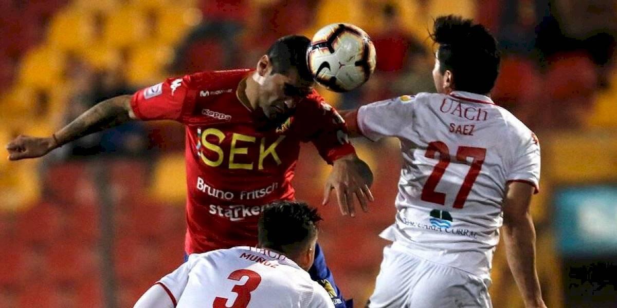 Unión Española sigue sin encontrar el gol y llega a seis partidos sin anotar