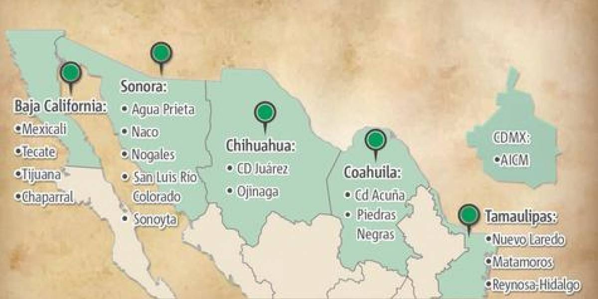 México: repatriados desde EE.UU. suben, pero las remesas también