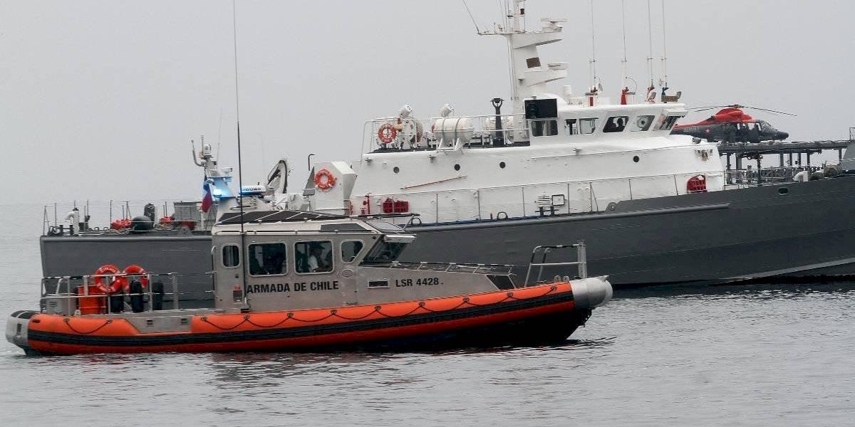 Reflotaron barcaza hundida en Magallanes: no se encontraron los cuerpos de los tres tripulantes desaparecidos