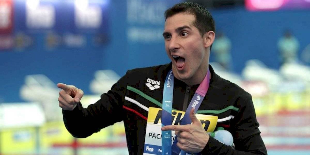 Rommel Pacheco, plata en trampolin 1 metro del Mundial FINA