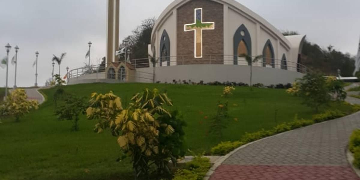 Canoa, en San Vicente, estrenará iglesia con apoyo extranjero