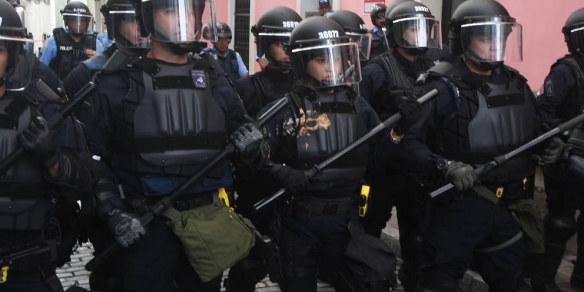 Cinco arrestados tras manifestaciones frente a Fortaleza