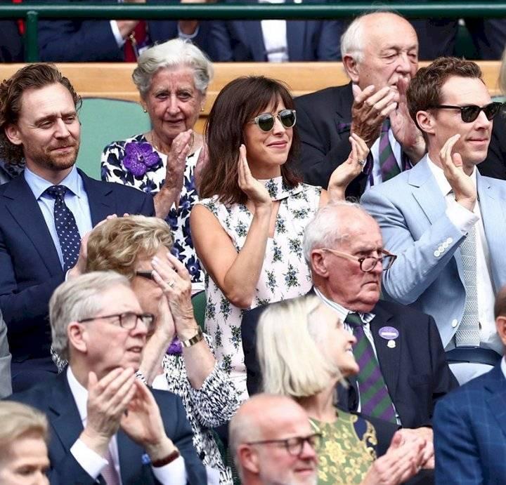 Loki y Dr. Strange en Wimbledon Facebook
