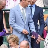 Loki y Dr. Strange en Wimbledon