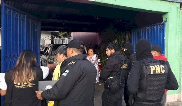 """allanamiento contra extorsiones """"Guate es nuestra 2"""""""