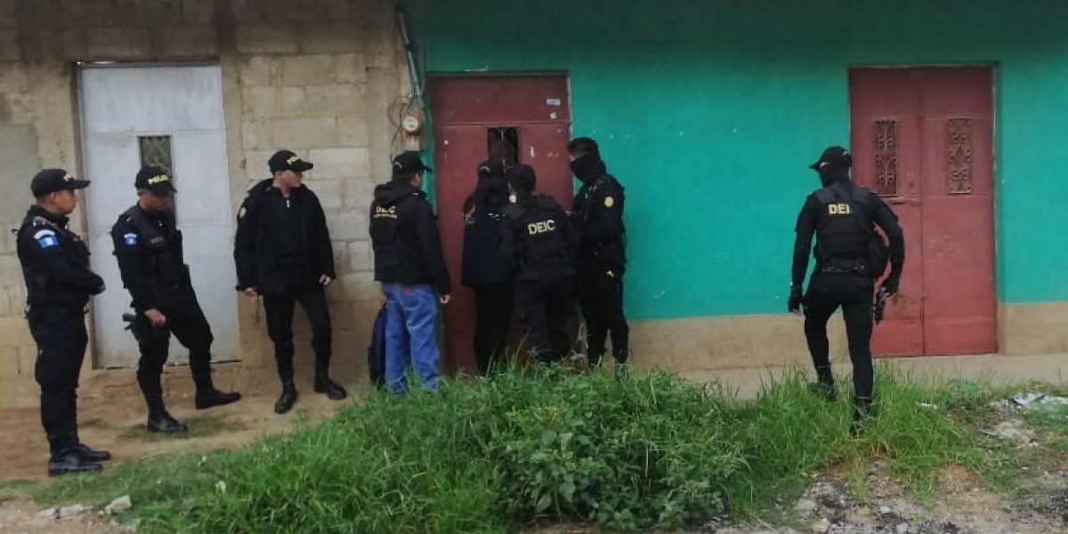 """Operativo contra extorsiones """"Guate es nuestra 2"""" se realiza en ocho departamentos"""