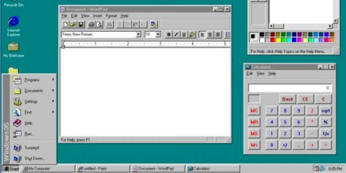 Misterio resuelto 24 años después: mover el mouse sí aceleraba el Windows 95