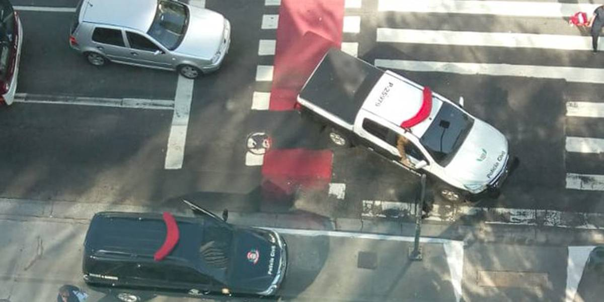 Polícia investiga assalto a agência bancária na Faria Lima