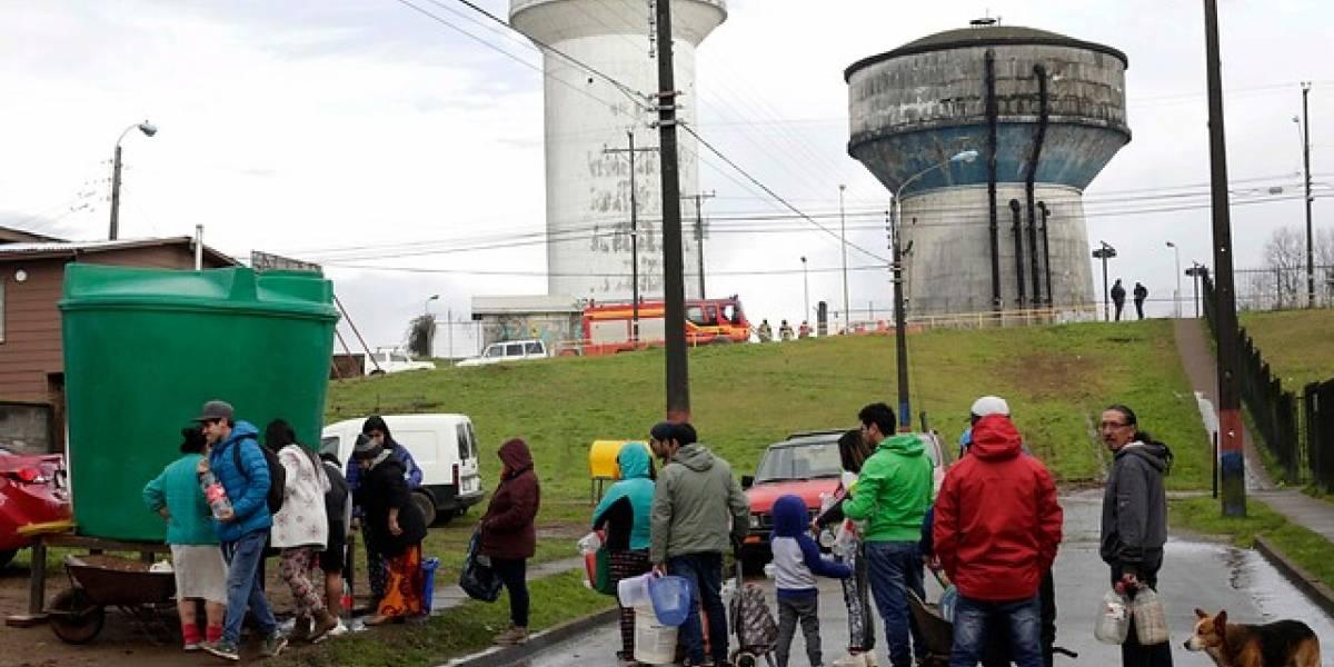 Osorno enfrenta la crisis con 60 camiones aljibe y 191 estanques de agua potable