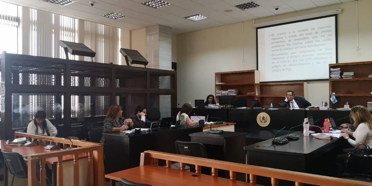 Juez no otorga arresto domiciliario a exasistente de Baldetti