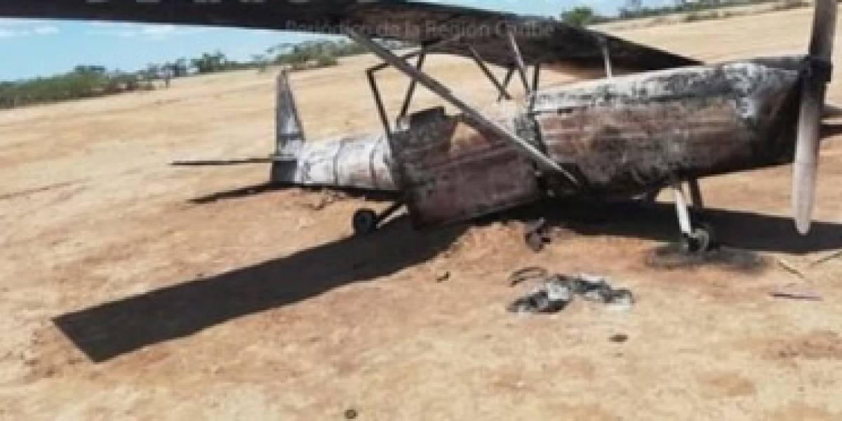 De película: El misterio de una avioneta encontrada incinerada en La Guajira