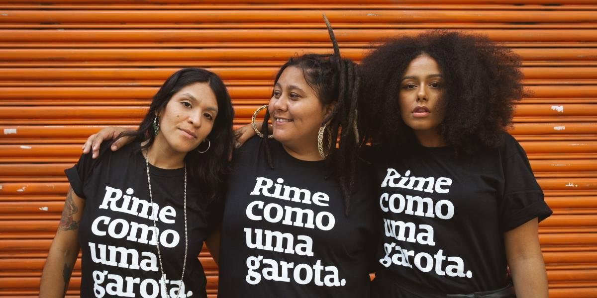 'Rime como uma garota': iniciativa promove vozes femininas do rap e da poesia em São Paulo e Curitiba