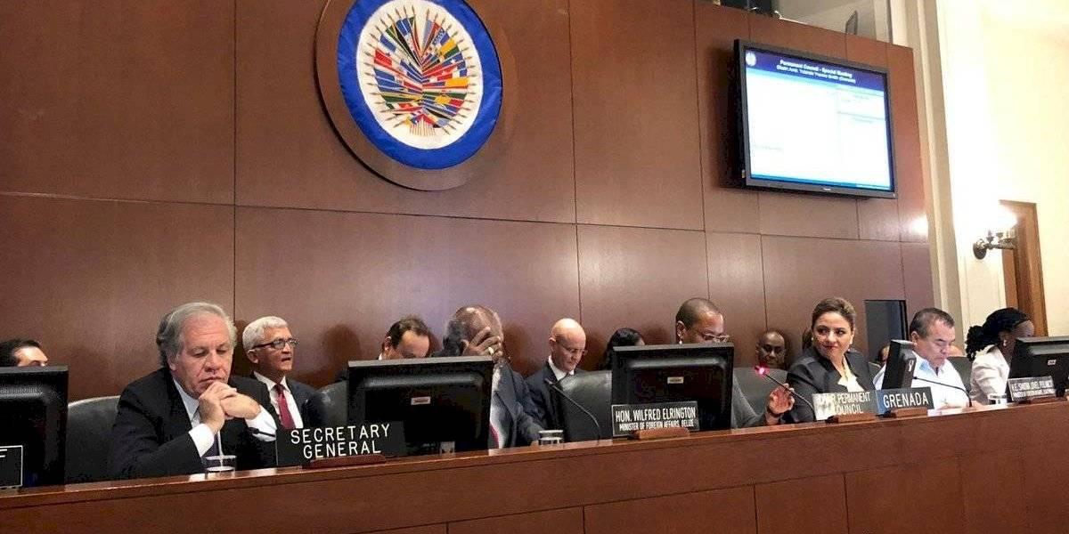 Canciller de Guatemala realiza visita en Estados Unidos