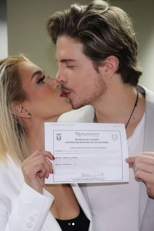 """María Fernanda Ríos se casó con """"Thor"""""""