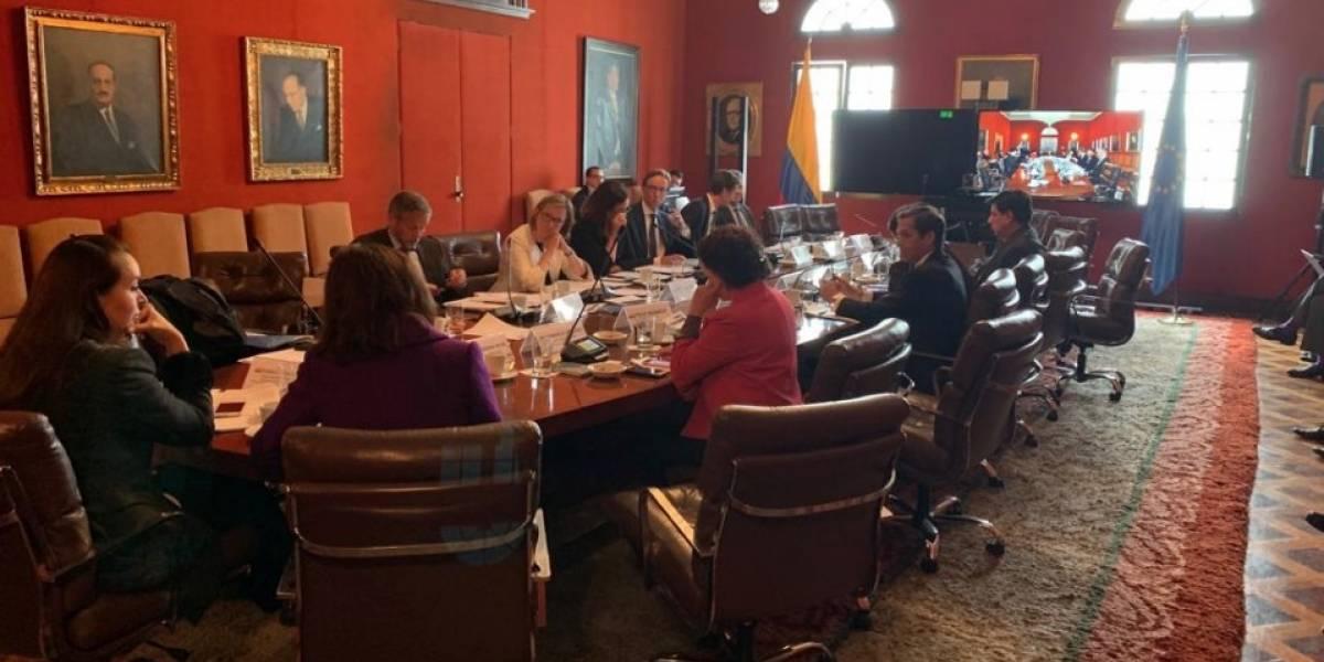Colombia y Unión Europea coinciden en impulsar su relación bilateral