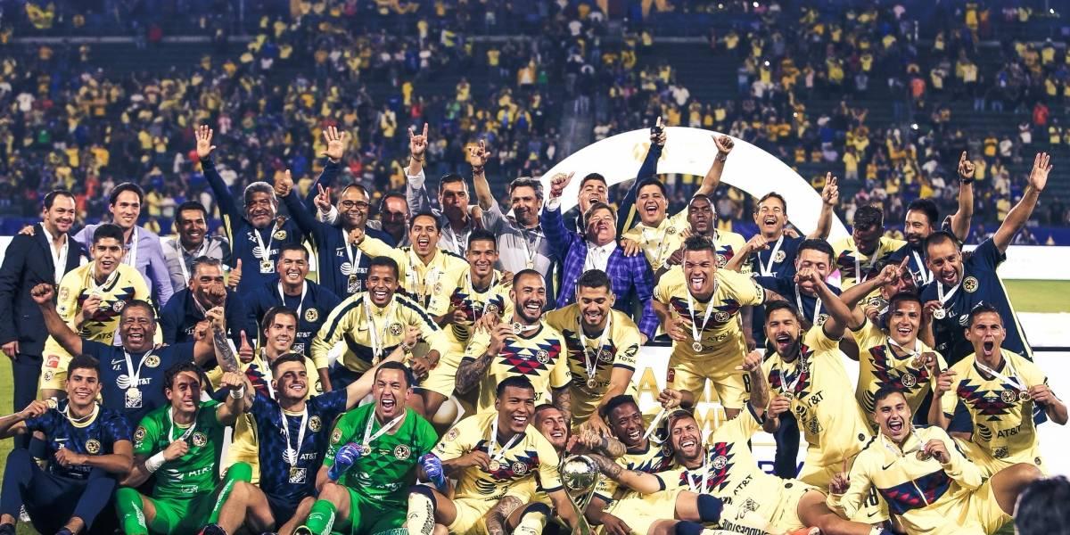 América de Nico Castillo ganó el título de Campeón de Campeones ante Tigres de Eduardo Vargas