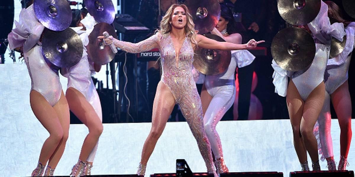 El momento en que un apagón en Manhattan arruinó el concierto de Jennifer Lopez en el Madison Square Garden