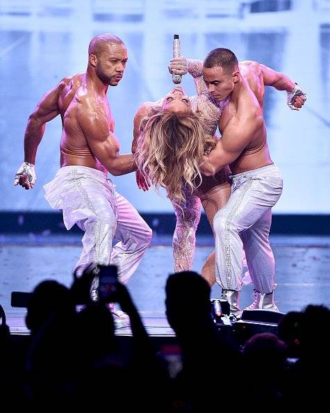 concierto de Jennifer Lopez en el Madison Square Garden Getty Images