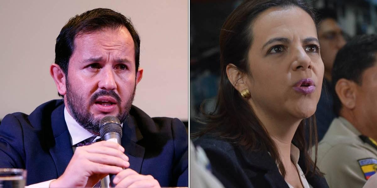 Iván Granda y María Paula Romo responden a las acusaciones de supuesto uso indebido de bienes públicos