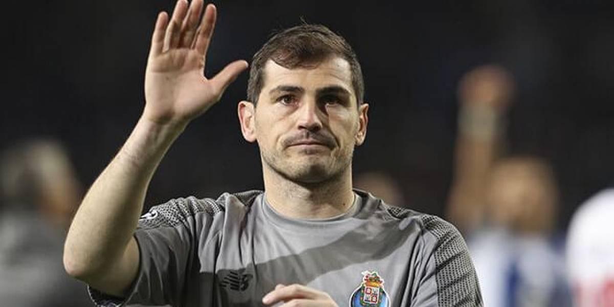 Iker Casillas se retira del fútbol...por ahora