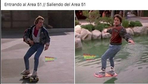 Memes área 51 Facebook
