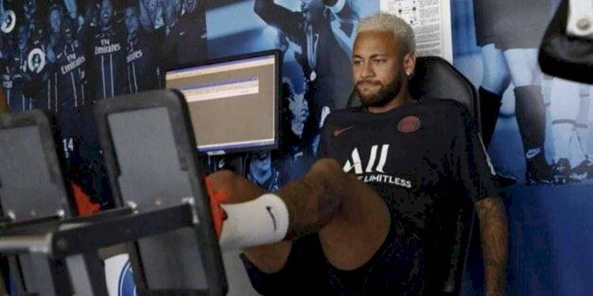 Neymar dio la cara y apareció con una semana de retraso en la pretemporada del PSG