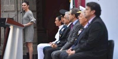 Abanderamiento de la delegación mexicana de los Juegos Panamericanos de Lima, Perú 2019