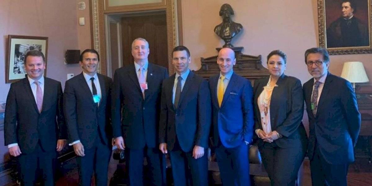 A pesar de cancelación de viaje de Morales, Guatemala y EE. UU. sí se reúnen en Washington