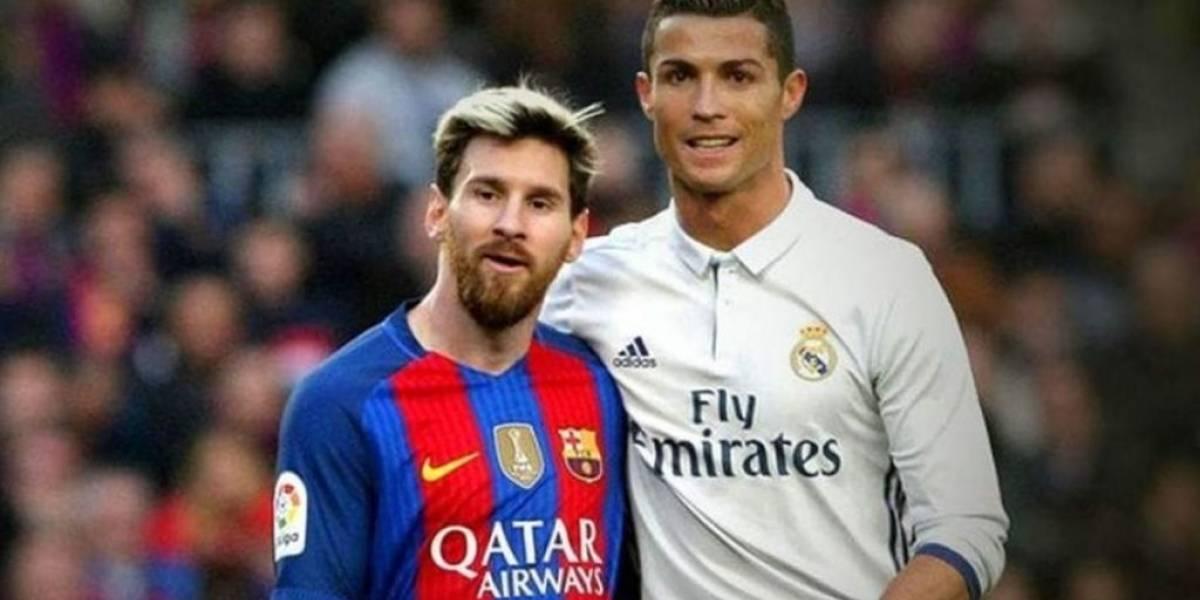 Así se verían Messi y Ronaldo de ancianos con la AppFace
