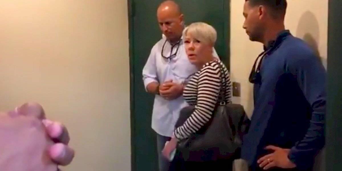 Escolta del gobernador impide que Mayra López Mulero entre a programa de Nación Z