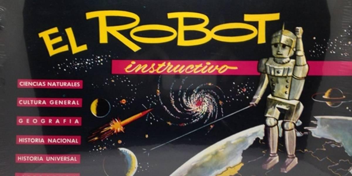 """Juegos de mesa retro: Recordando """"El Robot Instructivo"""""""