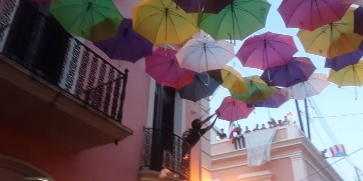 Regresarán las sombrillas a la calle Fortaleza