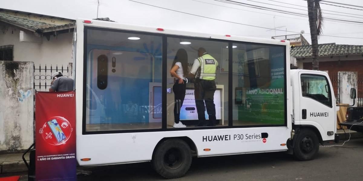 Atención usuarios, ¿de qué se trata el Truck Show de Huawei?