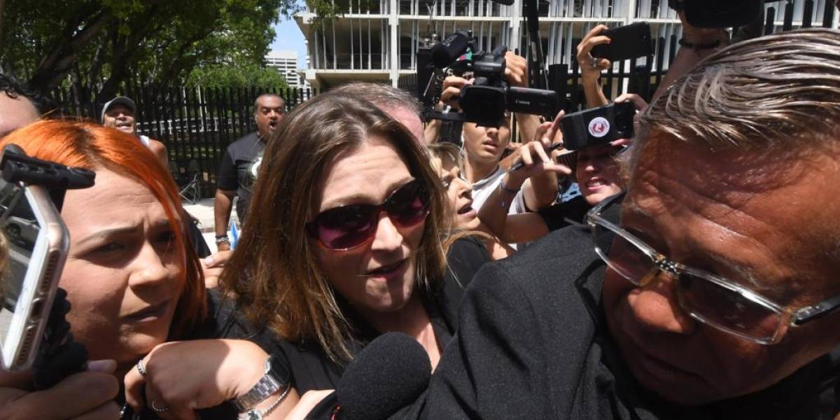 Julia Keleher comparece ante el Tribunal Federal