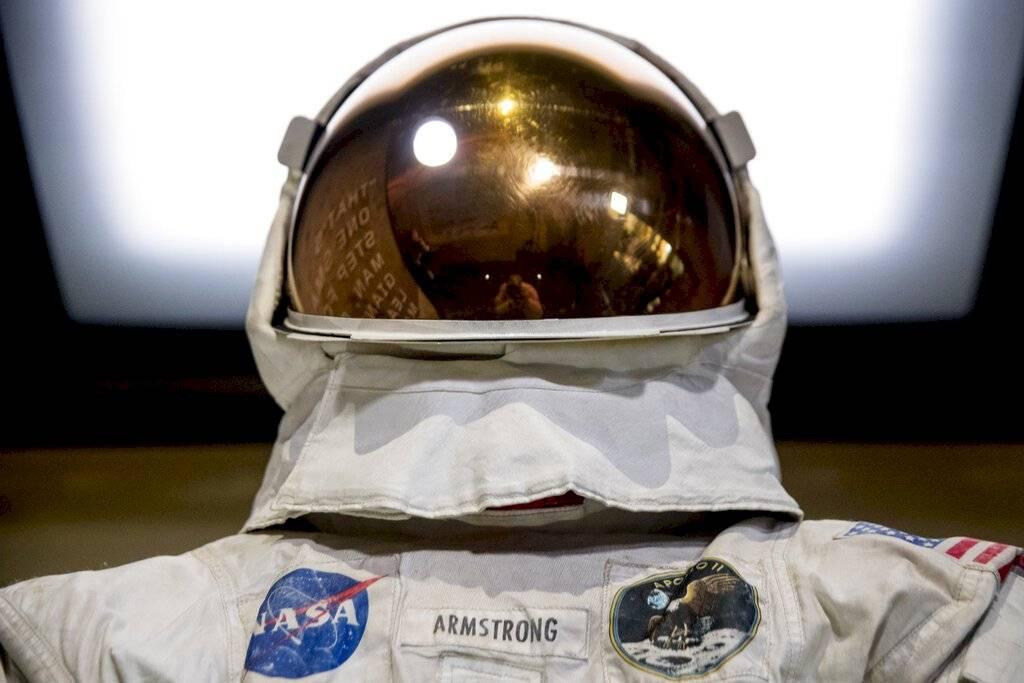 Llegada a la Luna Foto: AP