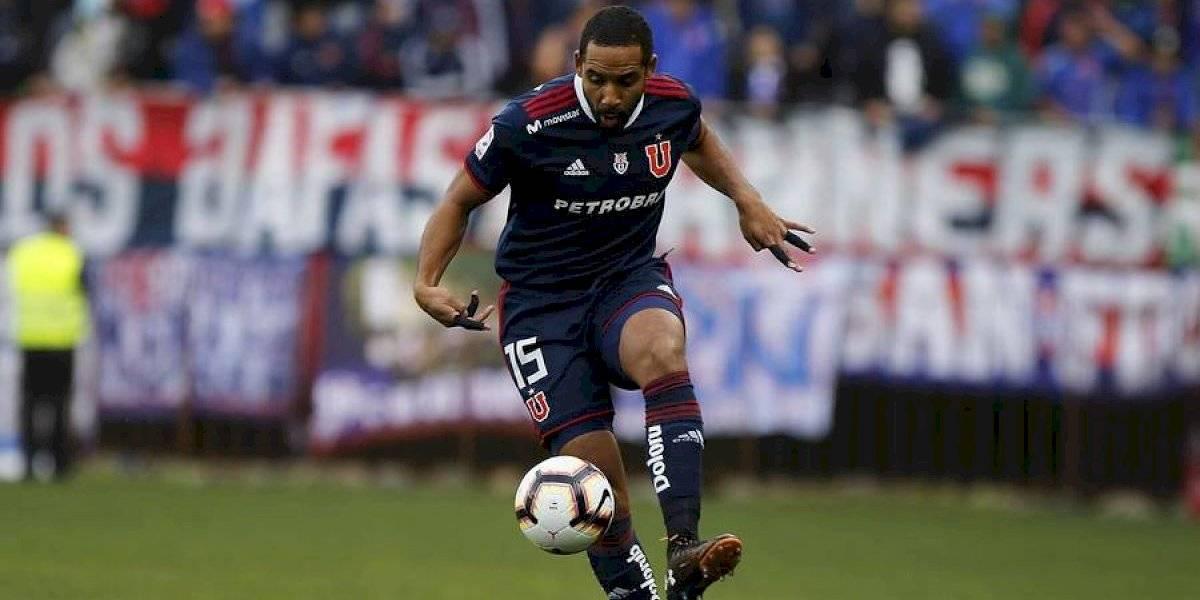 Jean Beausejour quedó descartado en la U para la revancha ante Temuco por la Copa Chile