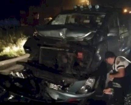 David Reinoso, Catherine Velasteguí y Emerson Morocho sufrieron un accidente de tránsito