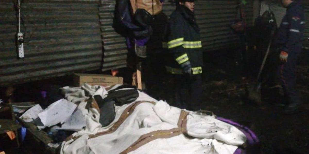 Deslizamiento en Antigua Guatemala deja 80 personas afectadas