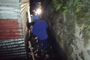 deslizamiento en Antigua Guatemala
