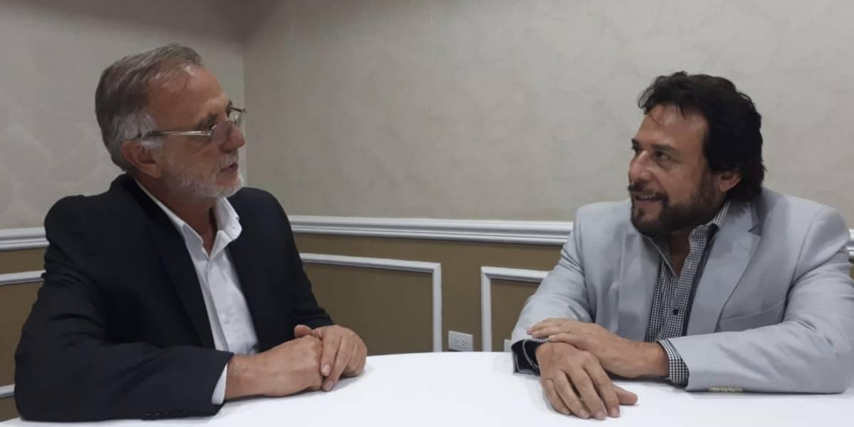 Vicepresidente de El Salvador e Iván Velásquez discuten creación de la CICIES