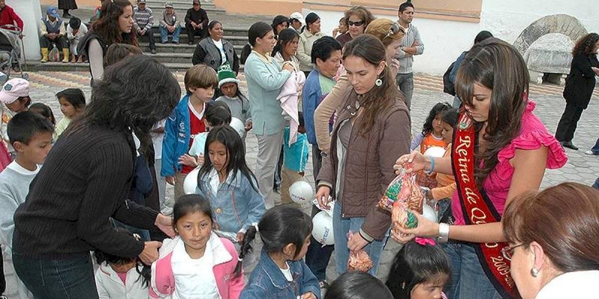 Fundación Reina de Quito: El fin de la soberana de la ciudad son las obras sociales